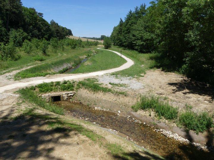 travaux étang mouchet rivière contournement chavannes ARCHE Agglo