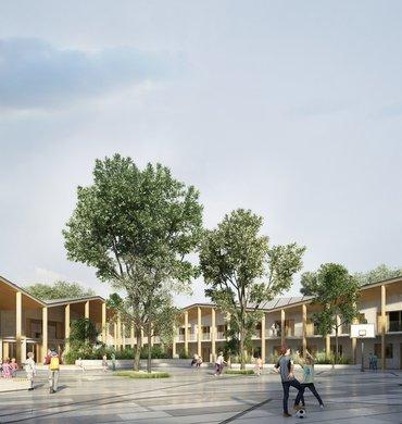 Collège à Saint-Donat-sur-l'Herbasse