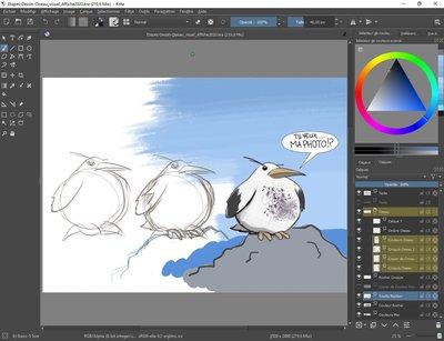 Stage peinture numérique EPN ARCHE Agglo saint jean de muzols
