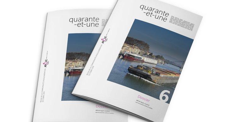 Quarante-et-une la revue ARCHE Agglo n°6