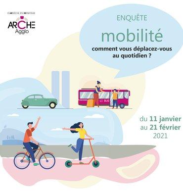 Enquête mobilité