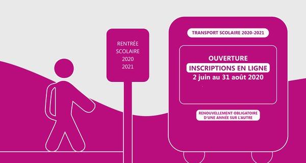 InscriptionTransport Scolaire 2020 2021_ARCHE Agglo